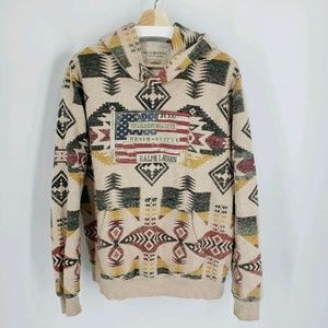 Denim Supply Ralph Lauren Southwest Aztec Hoodie
